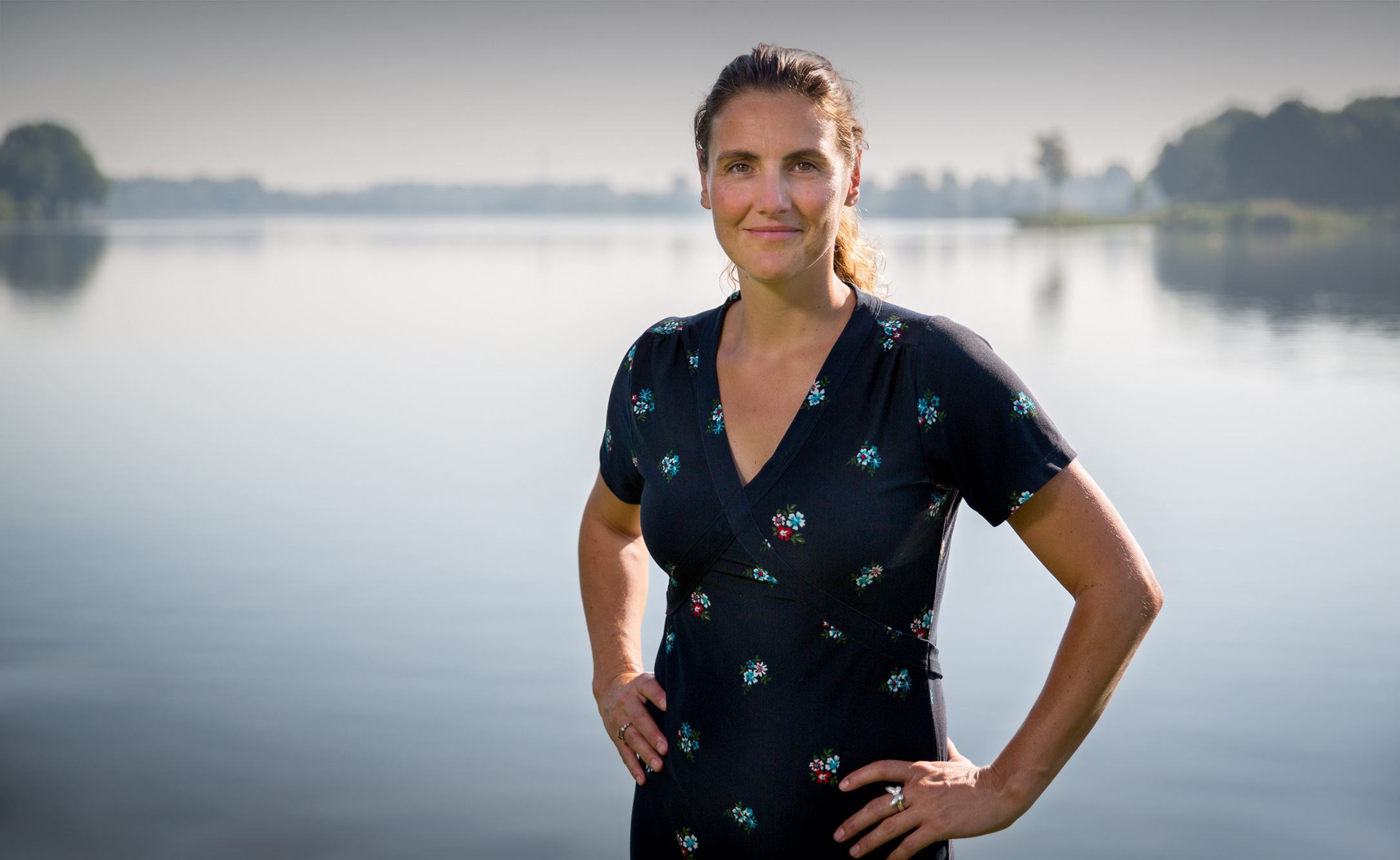 Debbie Schreuder, eigenaar van Voelen Haptotherapie in Amsterdam.