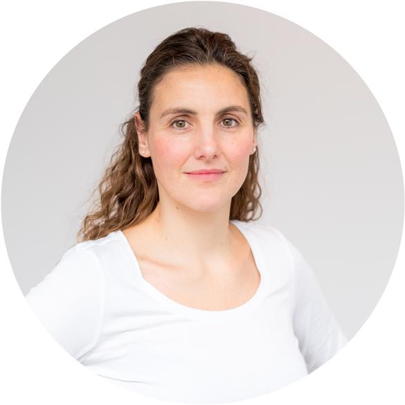 Debbie Schreuder, eigenaresse van Voelen Haptothrapie in Amsterdam